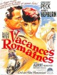 Vacances, Week-ends,  Voyages   cover film Vacances romaines